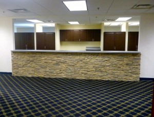 Medical office undergoing a remodel